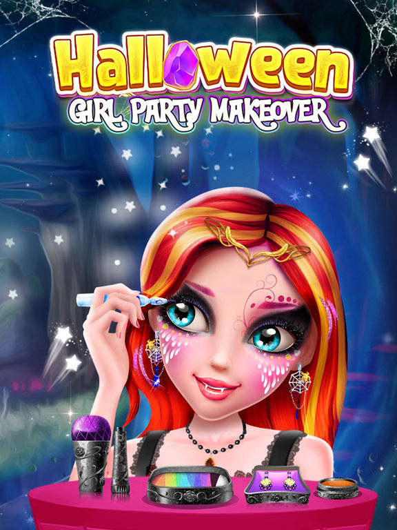 Halloween Girl Party Makeover screenshot 10