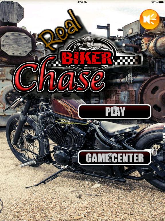 Real Biker Chase - Incredible Motorcycle Old Game screenshot 6