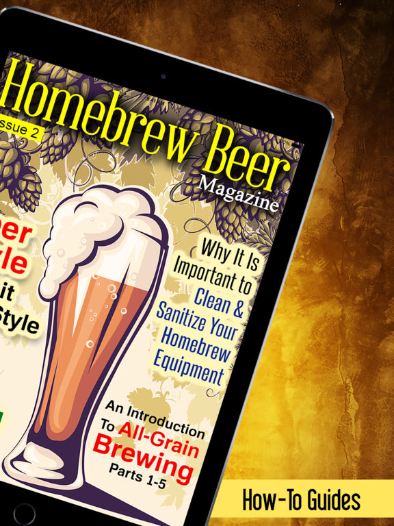 HomeBrew Beer Magazine - Brew Your Own Beer @ Home screenshot 5