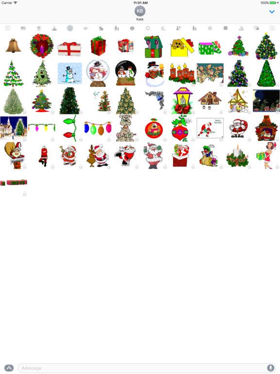HolidayGifs - Animated Holiday Stickers screenshot 5