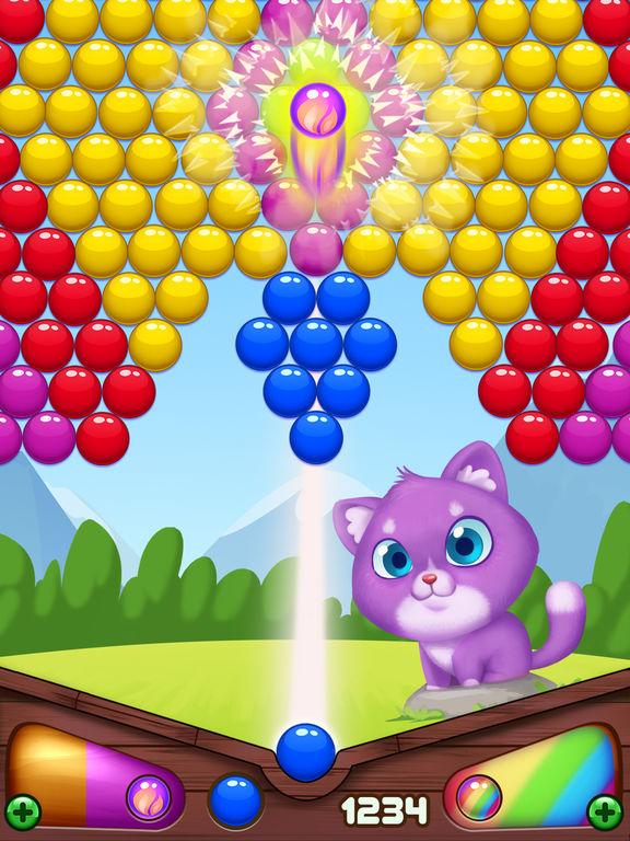 Bubble Shooter Kitty screenshot 6