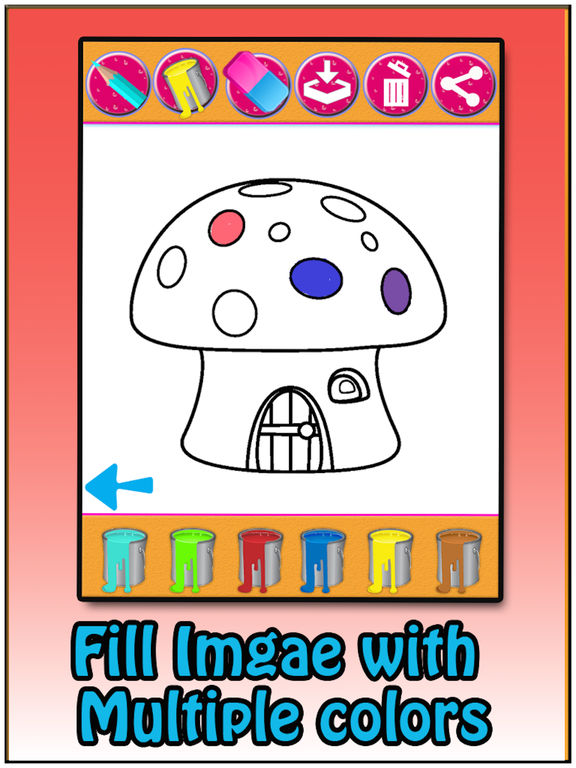 Coloring Book for kids & Adults screenshot 8