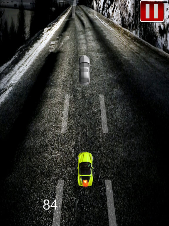 A Speed Endless To White Car - A Hypnotic Game Of Driving screenshot 10