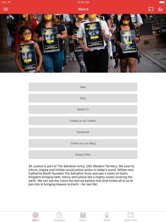 The Salvation Army SA Justice screenshot 4