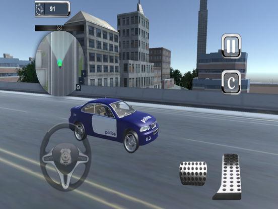 Highway Police Parking Challenge: 3D screenshot 4