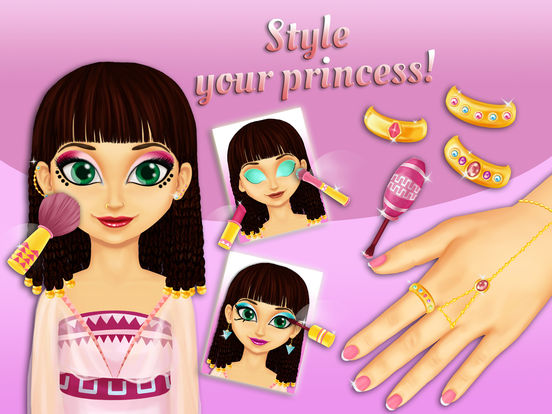 Sweet Egyptian Princess - No Ads screenshot 10