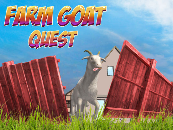 Farm Goat Simulator: Animal Quest 3D screenshot 5