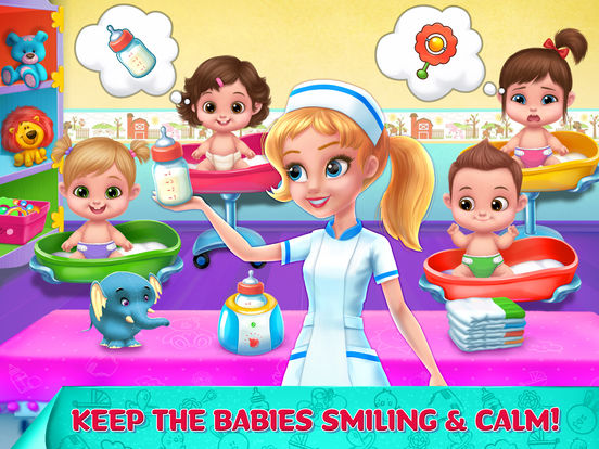 Crazy Nursery - Newborn Baby Doctor Care screenshot 8