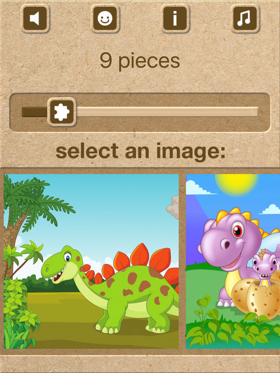 Dinosaur Jigsaw Puzzles - Kids Games for Toddlers screenshot 4