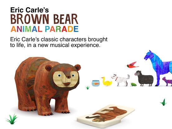 Eric Carle's Brown Bear Animal Parade screenshot 6
