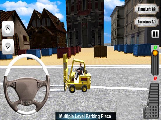 Forklifter Simulator 2016 : Container Cargo Lifter screenshot 6