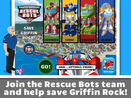 Transformers Rescue Bots: Save Griffin Rock screenshot 6