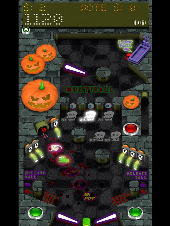 Pinball Halloween FREE screenshot 4