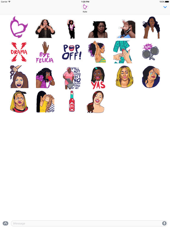 Bad Girls Club Stickers screenshot 3