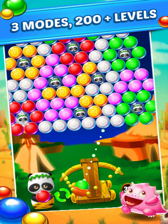 Crazy Ball Bear Rescue Baby screenshot 4