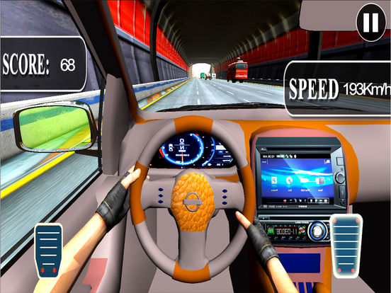 City Car Drive : New Highway Traffic Racing Game screenshot 4