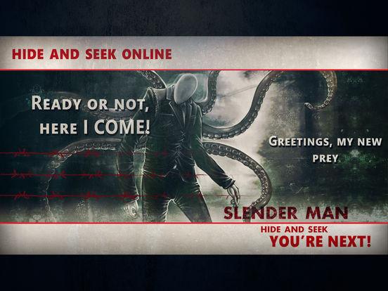 Slenderman Hide & Seek Online screenshot 7