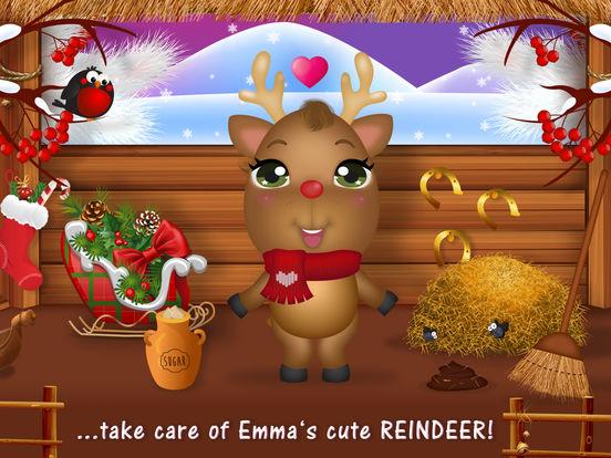 Sweet Little Emma Winterland 2 Cute Reindeer Care screenshot 6