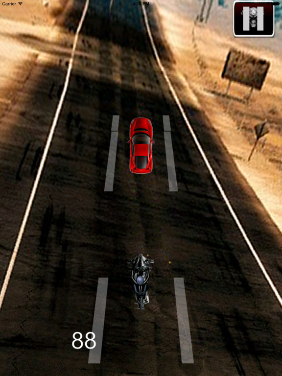 A Race Motorcycle Driver - Awesome Highway Rider Game screenshot 8