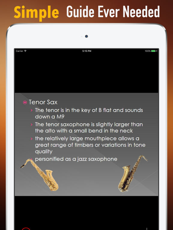 Self Learn Saxophone: Beginner Skills and Tutorial screenshot 6