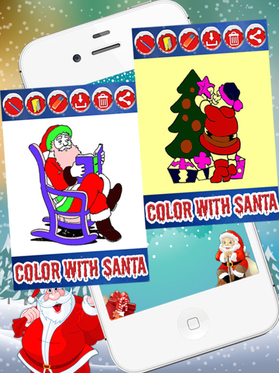 Christmas Coloring  Game For Kids & Adults screenshot 9