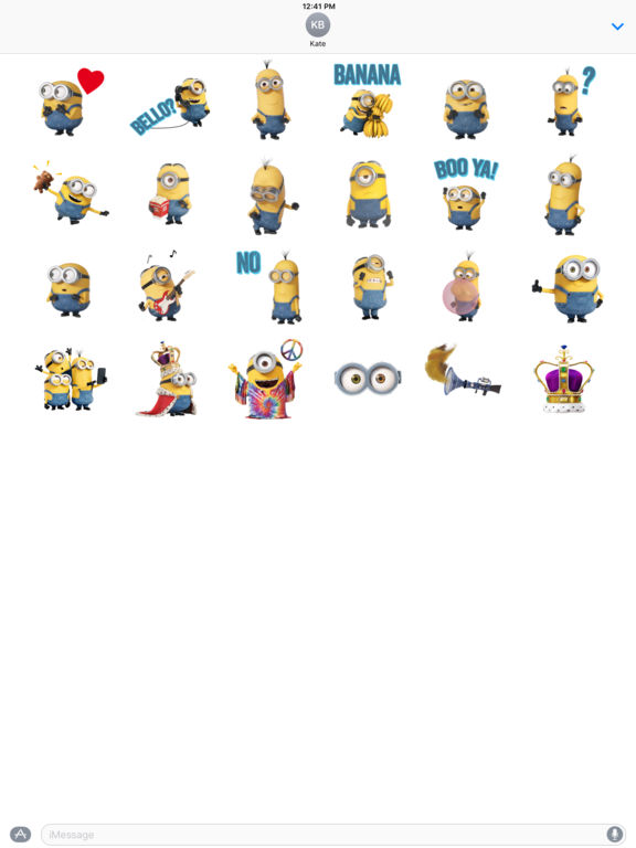 Minions Movie Stickers screenshot 4