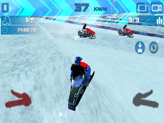 Snow Bike Rider : Racing Fever screenshot 6