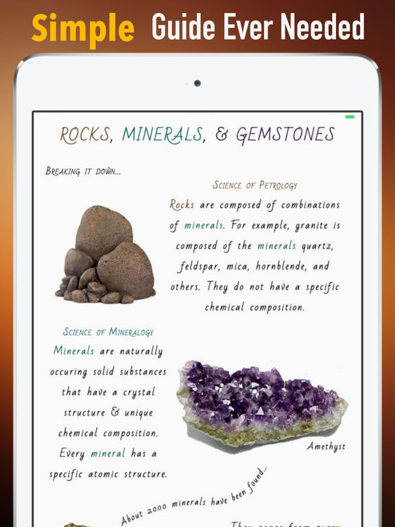 Rocks and Minerals|Guide and Breaking News screenshot 8