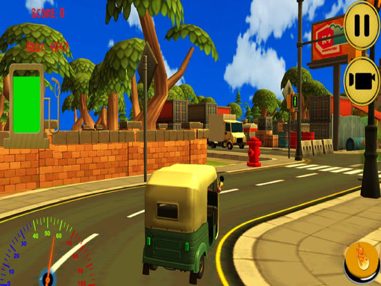 City Auto Rickshaw Drive screenshot 6