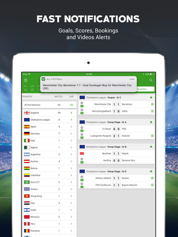 Live Soccer Scores -Skores screenshot 8