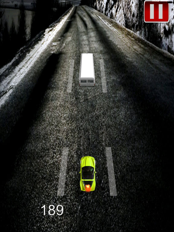 A Speed Endless To White Car - A Hypnotic Game Of Driving screenshot 8