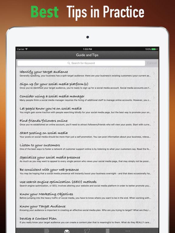 Social Media Marketing 101- Tips and Tutorial screenshot 8