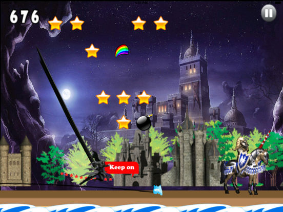 A Dark Wizard Jump Pro - Magic With Air Race screenshot 9