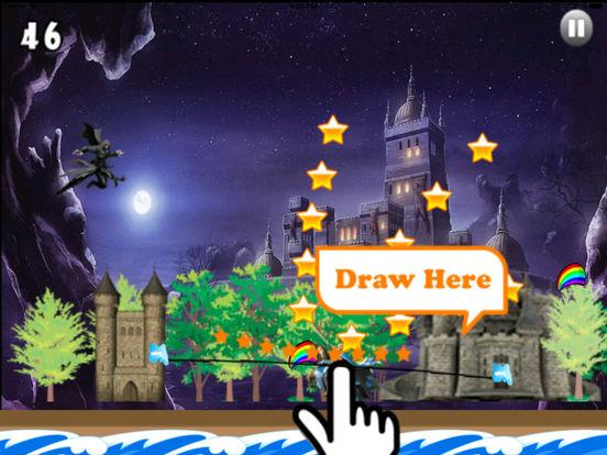 A Dark Wizard Jump - Magic With Air Race screenshot 7