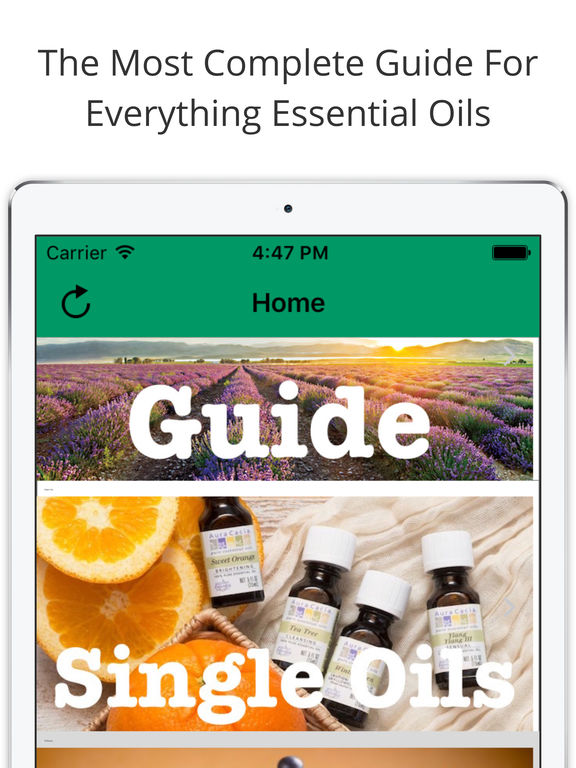 Essential Oils Desk Reference screenshot 7