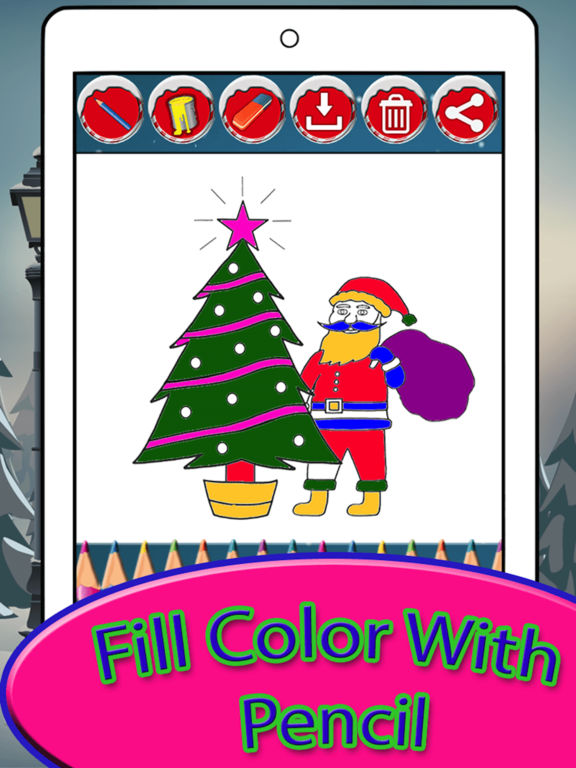 WOW! Christmas Coloring pages for kids & Adult screenshot 7