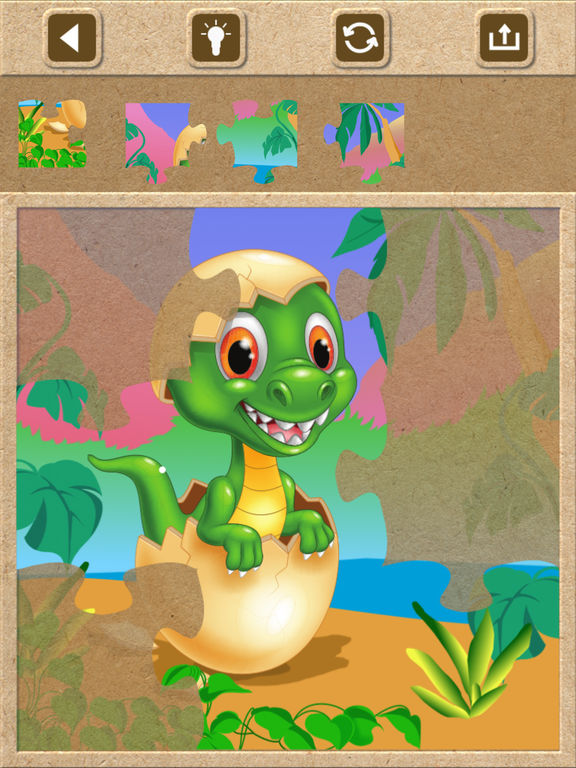 Dinosaur Jigsaw Puzzles - Kids Games for Toddlers screenshot 5
