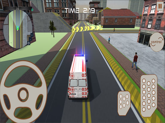 Ambulance Rescue : 3D Simulation Game 2016 screenshot 5