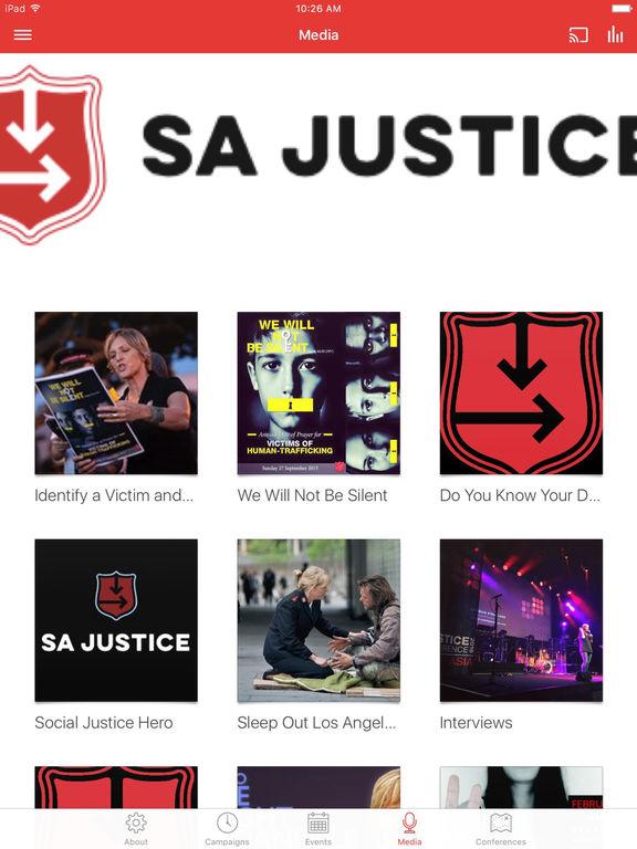 The Salvation Army SA Justice screenshot 6