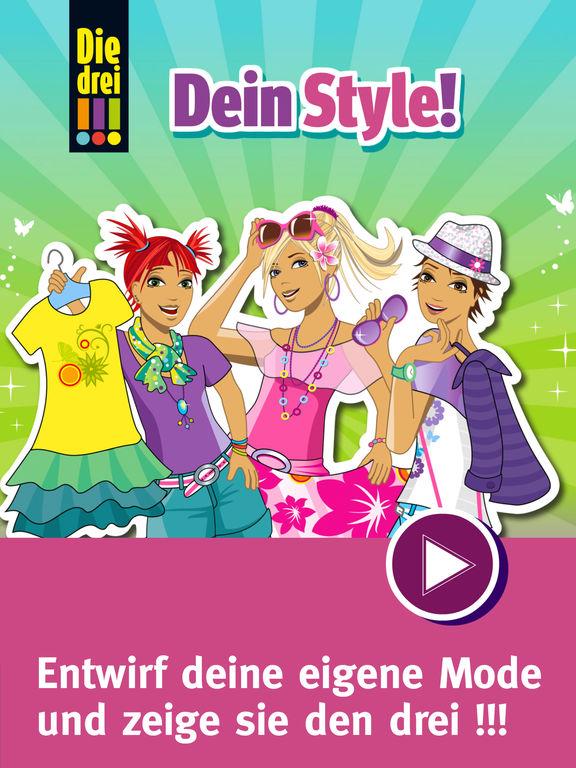 Die drei !!! - Dein Style! screenshot 6