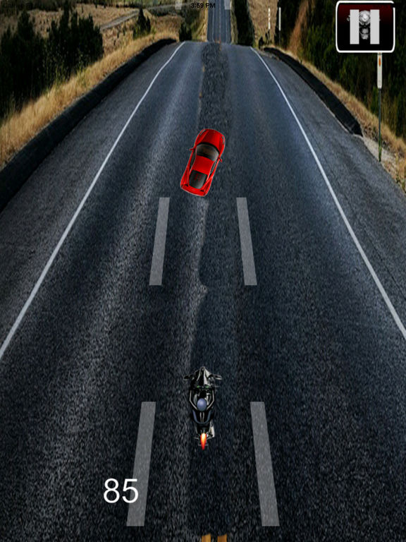 A Nitro Biker Race Ultra Pro - Motorcycle Driving 3D Game screenshot 8