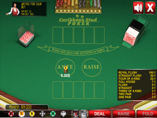 Caribbean Stud Poker ® screenshot 7