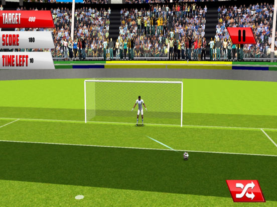 Football Fantasy Flick : Goal Shoot-out socc-er 3D screenshot 5