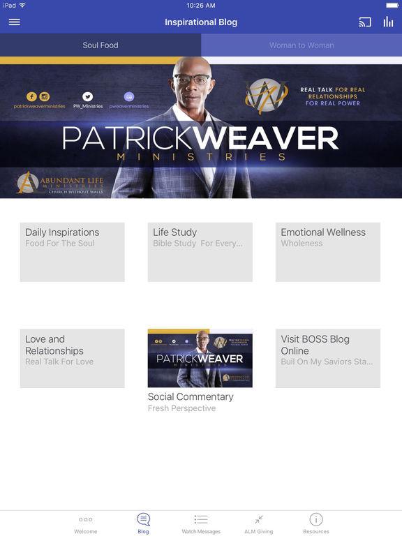 Patrick Weaver Ministries screenshot 6
