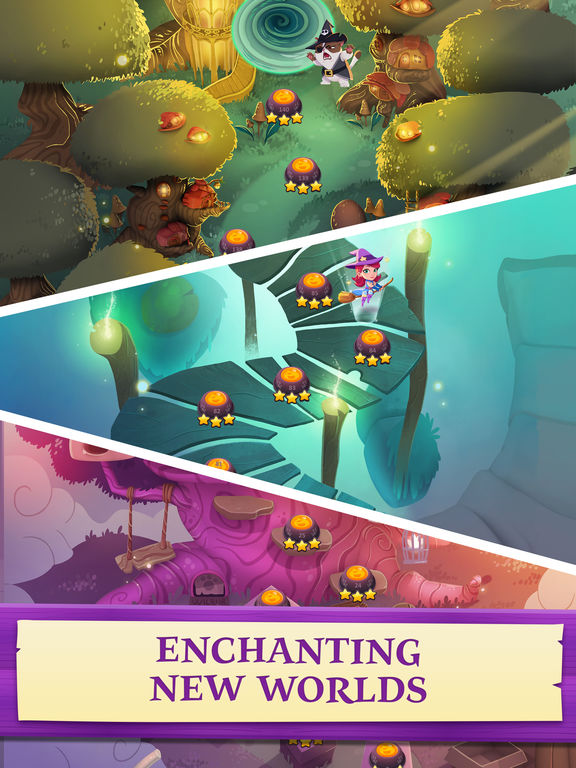 Bubble Witch 3 Saga screenshot #4