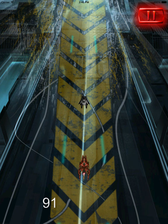 Super Spacecraft Track Pro - Game Ship Fighter Lightning screenshot 10