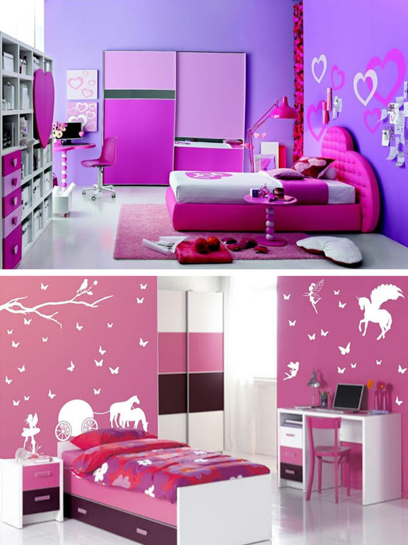 Teen Room Decor Ideas, Teenager Room Designs Plans screenshot 8