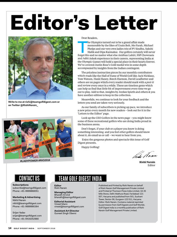 Golf Digest India screenshot 9
