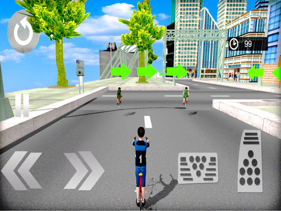 3D Cycle Simulator : New City Bicycle Racing Game screenshot 8