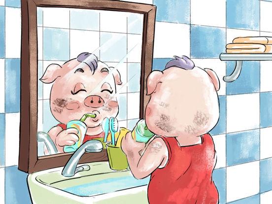 《小猪照镜子》经典绘本有声故事 screenshot 8
